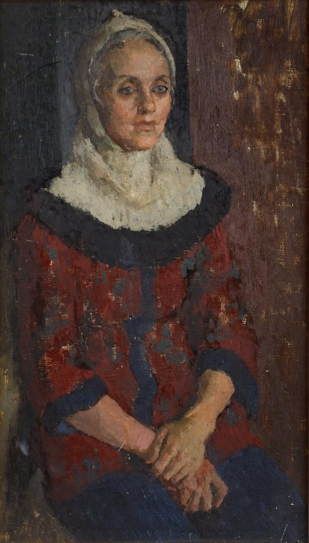 14-WOMAN-WHITE-SNOOD